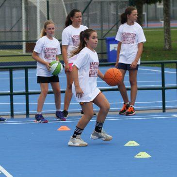 La segunda semana del Campus de Verano Cantbasket comienza mañana lunes día 26 de agosto