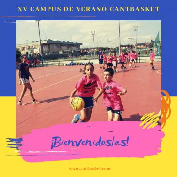 Información para los participantes del Campus de Verano Cantbasket 2019