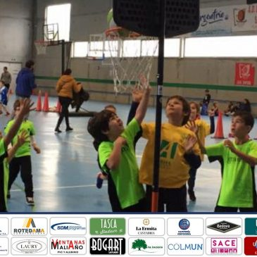 Los equipos de Baby-Basket de Arha Hoteles debutaron en Santoña