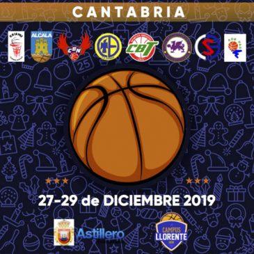 Cantbasket 04 participa en el Torneo de Navidad Ría de Boo