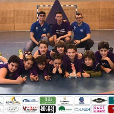 Cantbasket 04 A, campeón de la Copa Benjamín de 1ª División