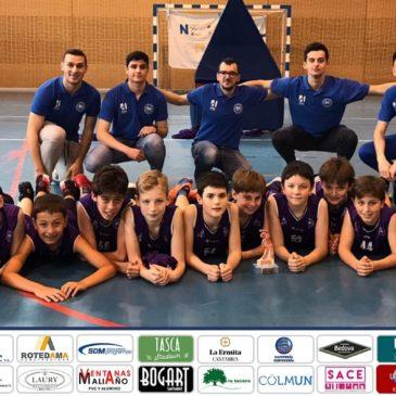 Cantbasket 04 A, campeón de la Copa de Primera División Alevín