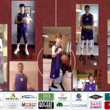 ¡Este partido lo ganamos en casa! – Vídeo de los jugadores cadetes de Cantbasket A
