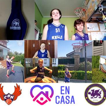 #YoMeQuedoEnCasa – Mensaje de los «SuperHéroes» de Cantbasket 04 y del CB Némesis Santander