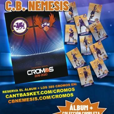 Abrimos nuevo plazo para comprar la colección de cromos de Cantbasket 2019/20