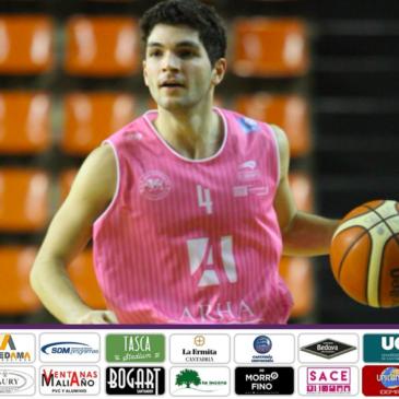 Andrés Pariente, cuarta renovación en el primer equipo de Cantbasket 04