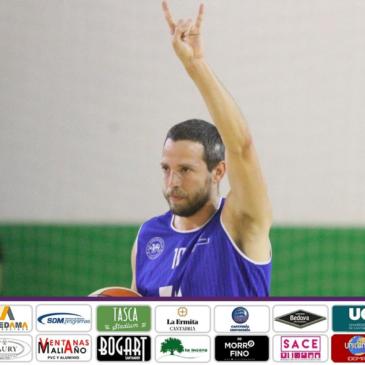 Jaime García, capitán de Cantbasket 04, cumple su quinta temporada consecutiva con el primer equipo