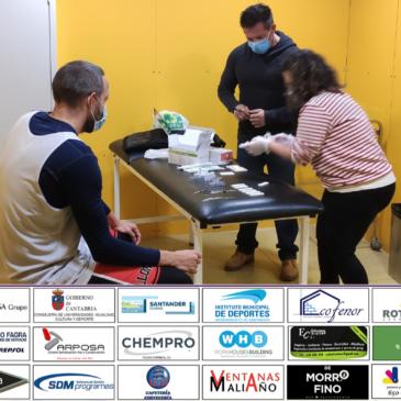 La totalidad de los jugadores y técnicos de Conspur Bezana y Cantbasket 04 dan negativo en COVID-19