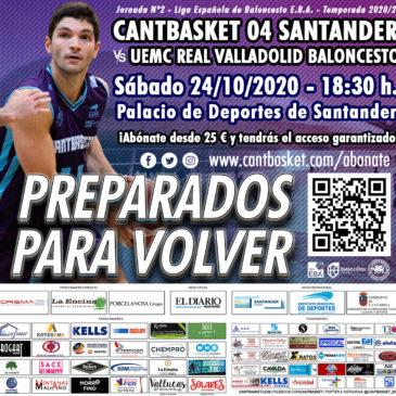 Registro de entradas: Cantbasket vs UEMC Real Valladolid Baloncesto