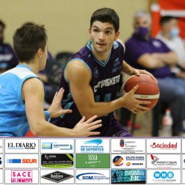 Cantbasket 04 y Conspur Bezana se enfrentan este sábado en el Palacio de Deportes (18:30h)