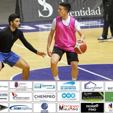 Cantbasket 04 regresa a los entrenamientos pensando ya en el partido del día 13 ante UEMC Real Valladolid