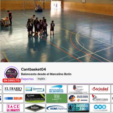 Partidos de la cantera en directo desde el Pabellón Marcelino Botín