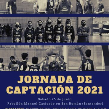 Jornada de captación el 26 de junio en el Pabellón Manuel Cacicedo