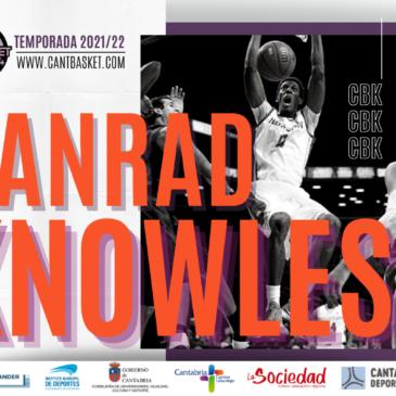 Danrad Knowles, nuevo refuerzo para el juego interior de Cantbasket 04 Santander