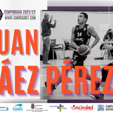 El alero vallisoletano Juan Sáez llega al primer equipo de Cantbasket 04