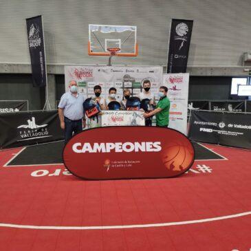 Los infantiles Diego Somohano, Óscar Díez, Gael López-Vázquez y Armando Maestro, campeones en Valladolid